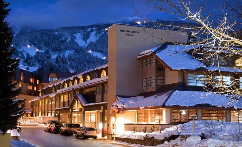 Listel Hotel, Whistler, BC, Canada