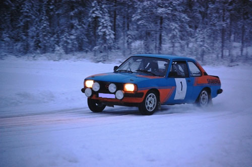 Ice Racing in Lappland
