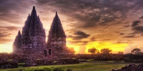 Lost Hindu Temple, Indonesia