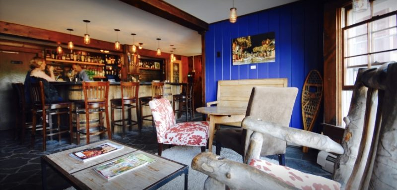 Lounge at The Bistro at Ten Acres in Stowe, Vermont