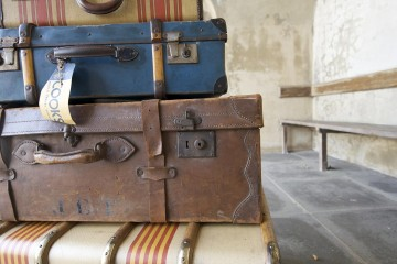 Luggage Pile, England