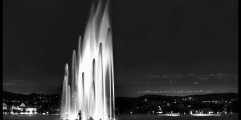 Lurking in Fountains in Zurich, Switzerland