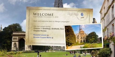 Mango Passport: Language Learning Software (screenshot)
