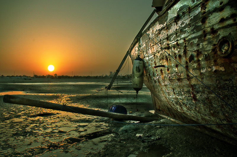 Decaying Marina Sunset, Manama, Bahrain