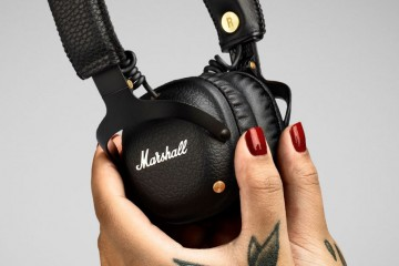 Marshall Mid Bluetooth Wireless Headphones (black)