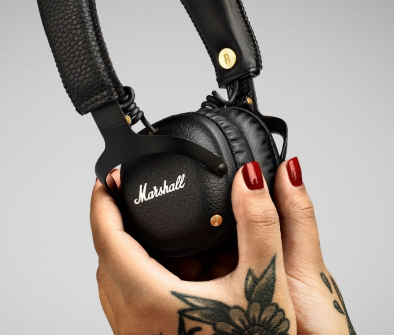 Marshall Mid Bluetooth Wireless Headphones (black)