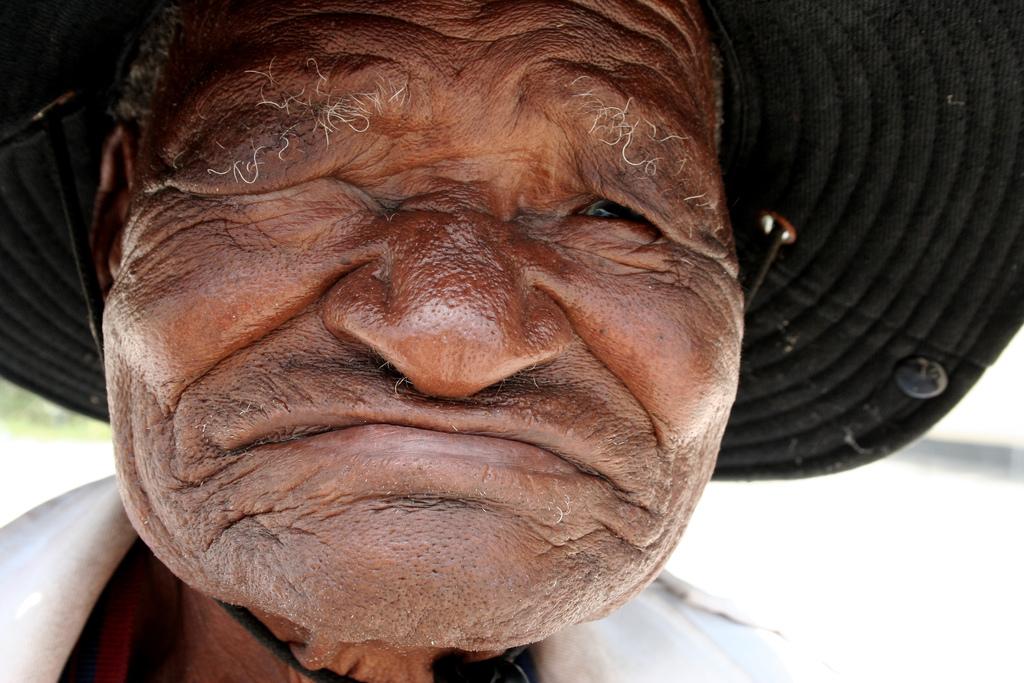 Masarwa Man, Botswana