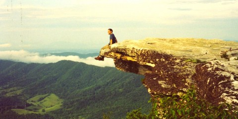 Atop McAfee Knob, Virginia