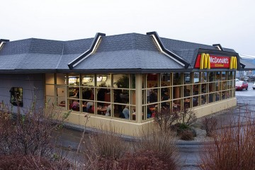 McDonalds in Sudurlandsbraut, Iceland