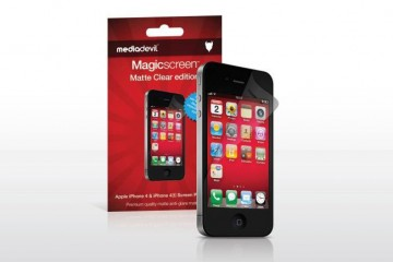 MediaDevil Magicscreen Screen Protector (matte finish for iPhone 4)