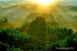 Misty Sunrise, Taiwan
