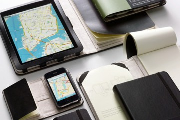 Moleskine iPad/iPhone Covers