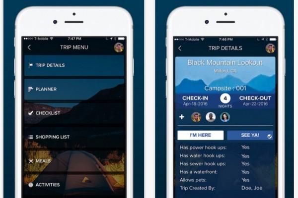 Moonlight Camping Mobile App