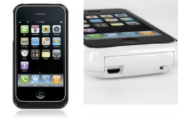 Mophie Juice Pack Air: iPhone 3G Hard Case/Battery