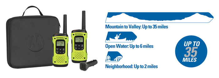 Motorola Talkabout T605 Two-way Radio Kit