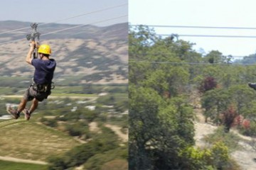 Napa Valley Zip Line, California