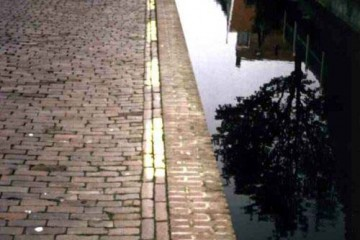 Narrow Bike Path, Amsterdam