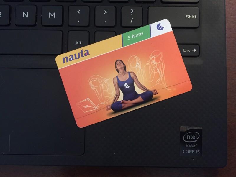 Cuba's NAUTA Prepaid Internet and WiFi Cards