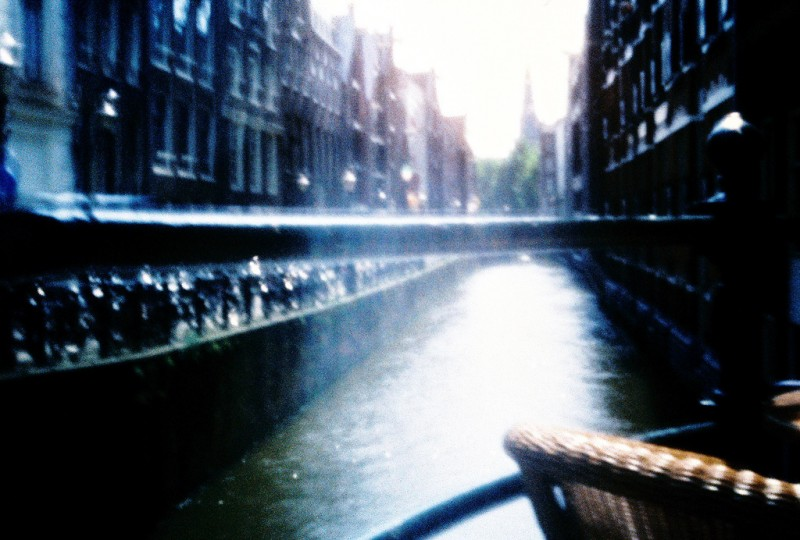 View of the Water Near Central Station, Amsterdam