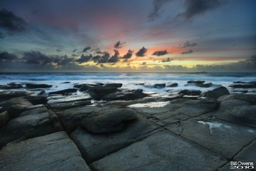 New Year Dawn at Point Cartwright, Sunshine Coast, Queensland