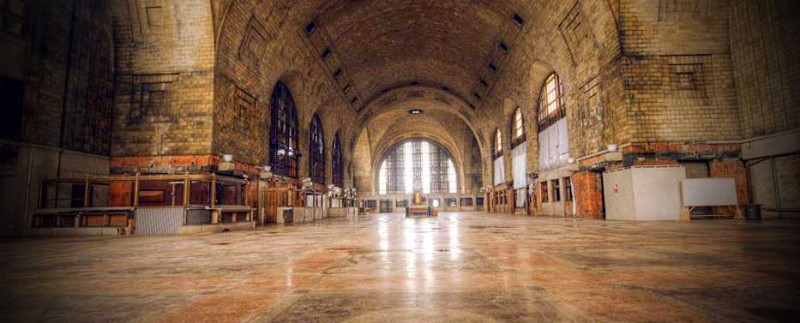 New York Central Terminal (designed by FL Wright)