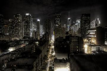 Night, New York City