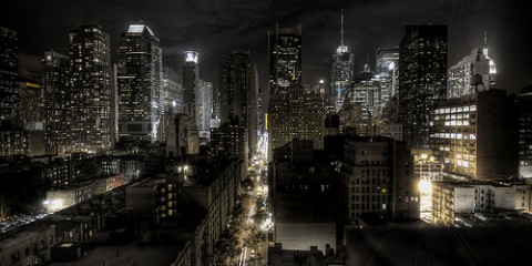 Night, New York City