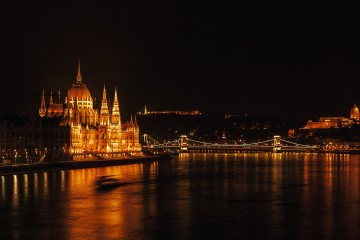 Budapest Parliament by Night