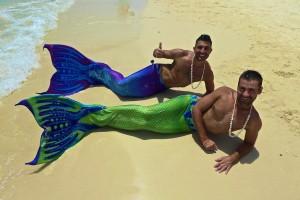 Nomadic Boys as Mermaids in Boracay, Philippines (June 2015)