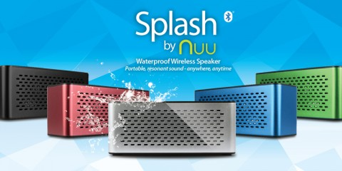 NUU Splash: Portable Waterproof Wireless Speaker