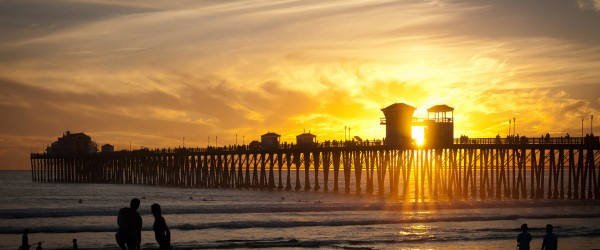Oceanside Pier, California