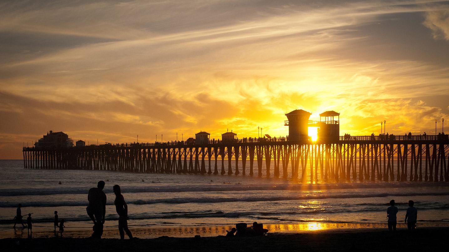 Oceanside Pier, California