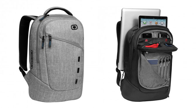 "Ogio Newt 15"" Laptop Backpack (Static Gray)"
