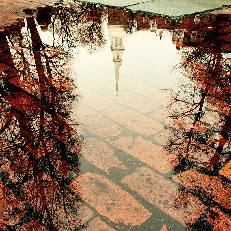 Reflection of Old North Church