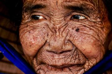 Elderly Typhoon Survivor, Vietnam