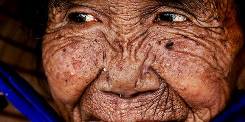 Elderly Typhoon Survivor, Vietnam