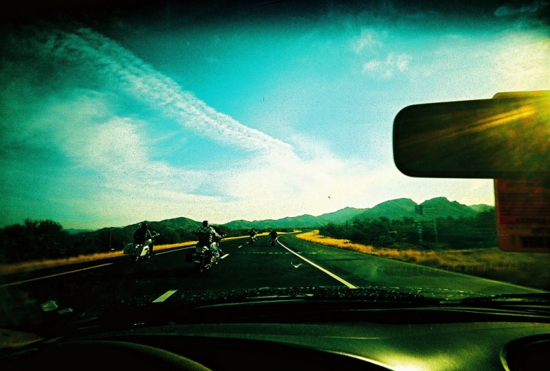 Traveling Open Road, Arizona