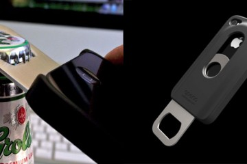 Opena Case: iPhone Case with Bottle Opener (black)