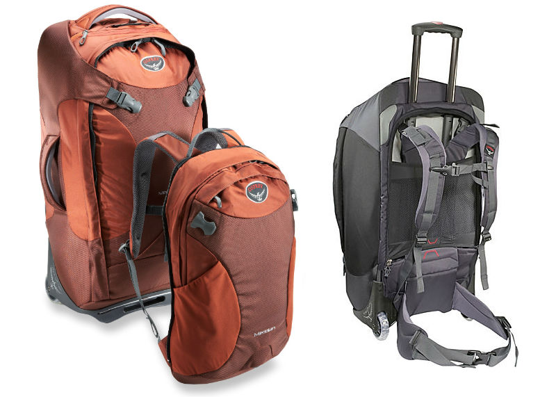 "Osprey Meridian 28"" Rolling Duffel and Backpack"