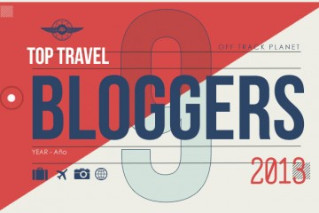 "Off Track Planet ""9 Favorite Travel Bloggers of 2013"" (header graphic)"