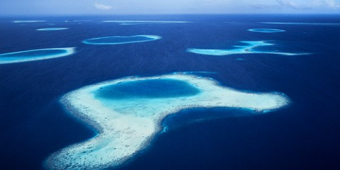 Over the Reefs, Maldives