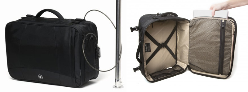Pacsafe MetroSafe 400: (Nearly) Bulletproof Carry-on Travel Bag ...