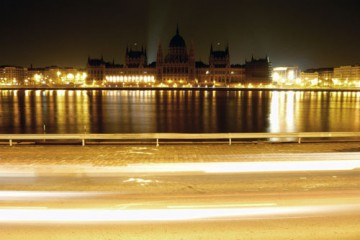 The Parliament Building at Earth Hour, Budapest