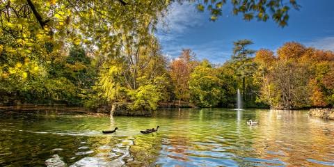 Parque del Campo Grande, Valladolid (Spain)
