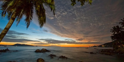 Thailand's Patong Beach at Dawn