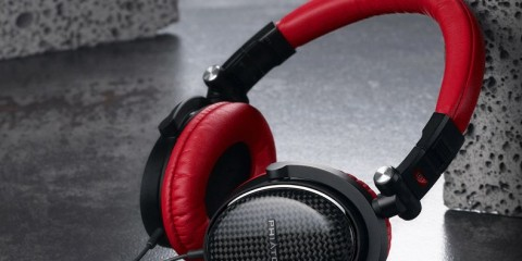 Phiaton MS 400 Moderna Series headphones (red)