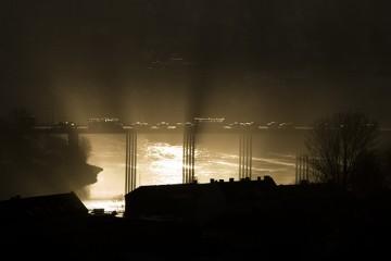 Elgeseter Bridge in Trondheim, Norway