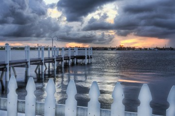 A Picket Fence, Palm Beach, Florida