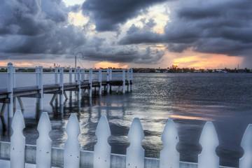 A Picket Fence, Palm Beach, Florida