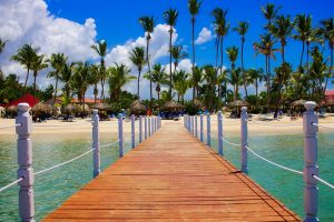 Pier in Dominican Republic